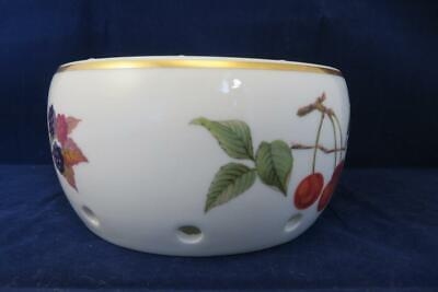 Royal Worcester Evesham Gold Teapot/Plate/Dish Warmer Excellent Cond