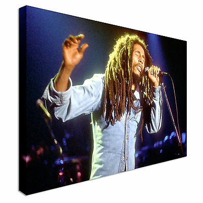 Bob Marley pop art Freedom song Canvas Wall Art Picture Print