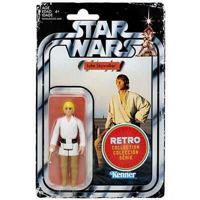 "Star Wars Retro Collection Luke Skywalker Kenner Flashback 3.75"" Action Figure"