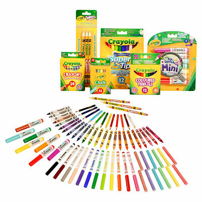 Crayola 70 Piece Stationery Set - Includes crayons, pencils, markers and more!
