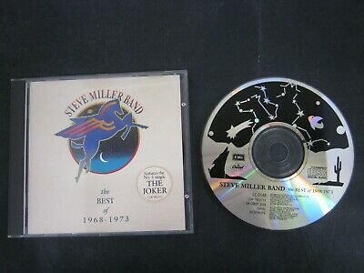 CD Music Album STEVE MILLER BAND THE BEST OF 1968-1973 (2)