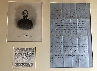 Mexican War, Civil War Union General Philip Kearny Document Signed (Scarce)