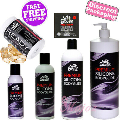 WET STUFF Premium Silicone Bodyglide Personal Lubricant Lube Sex Anal Vagina
