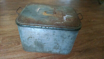 Vintage, Atlantic-Col-Pac Dairy Bottle Cooler, Galvanized metal with 2 racks and