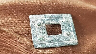 Superb Roman bronze very rare intact casket mount. A must read description L142n