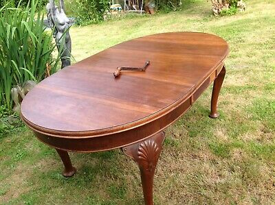 Edwardian/Victorian Extending Table Approx 6ftx3ft With Original Winder  💐