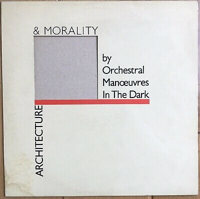 """Orchestral Manoeuvres In The Dark – Architecture & Morality 12"""" Vinyl LP MINT"""