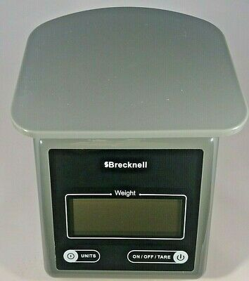 Brecknell Postage Scale PS7 7 Pounds Grey
