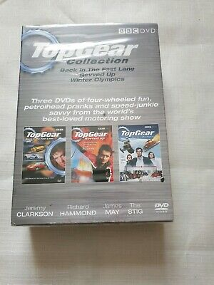 Top Gear Collection, 3 DVD specials box set, Clarkson Hammond May Stig
