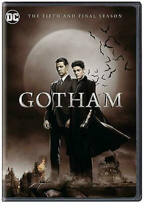 DC Gotham Final Season 5 DVD Box Set Complete Fifth TV Series Collection New