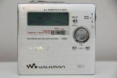 SONY Minidisc Walkman MZ-R909 MD Player Recorder Remote Battery MDL