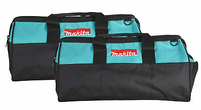 """Makita 21"""" Tool Bag with interior pockets, durable handle and zipper  2 Pack"""