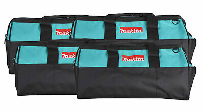 """Makita 21"""" Tool Bag with interior pockets, durable handle and zipper  4 Pack"""