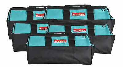 """Makita 21"""" Tool Bag with interior pockets, durable handle and zipper  5 Pack"""