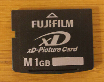 FUJIFILM 1 GB xD Picture Card Card fits OLYMPUS and some KODAK cameras