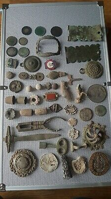 Metal Detecting Finds, Silver Coins Etc