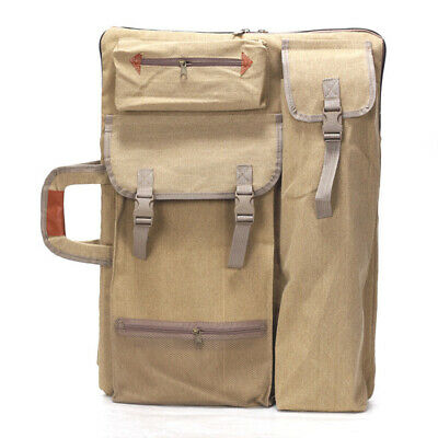 Travel Art Supplies Drawing Board Canvas Backpack Painting Bag Multifunctional
