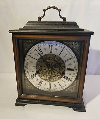 LMAS ~ German Cuckoo Clock Mfg Co. Bracket Clock Linden