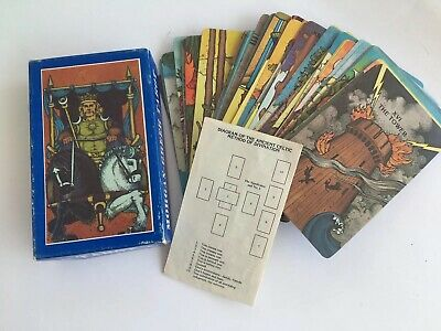Vintage 1979 Morgan-Greer Tarot Cards Full Deck