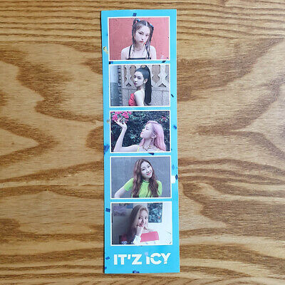Itzy IT'Z ICY Pre Order Benefit Official Sticker Genuine Kpop