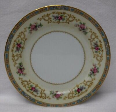"""NORITAKE china COLBY BLUE 5032 pattern Luncheon Plate - 9"""""""