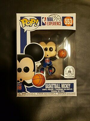 Disney NBA Experience Basketball Mickey Funko Pop