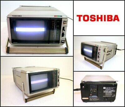 Vintage TOSHIBA C-531 PORTABLE COLOUR TV (Made in Japan)