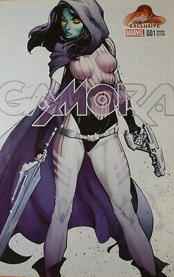 GAMORA #1  (Limited to only 3000 copies) Exclusive Campbell Marvel comics   NM+