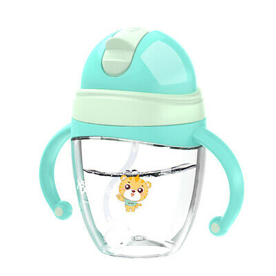 Sippy Trainer Straw Cup Home Travel Bite Resistant Drinking Education For Baby