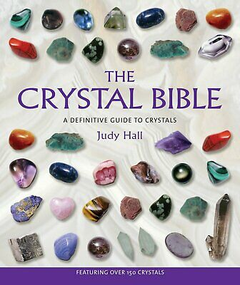 The Crystal Bible by Judy Hall  Divination with Crystals Spiritual Paperback NEW