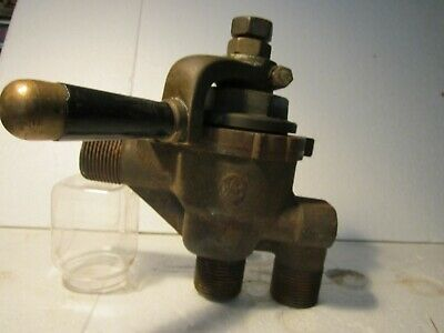 Genuine 19th century No 17 Solid Brass West/house Drivers Locomotive Brake Valve