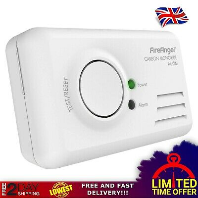 Carbon Monoxide Alarm Landlord Safety LED Sensor Monitor Home Danger DIY CO2