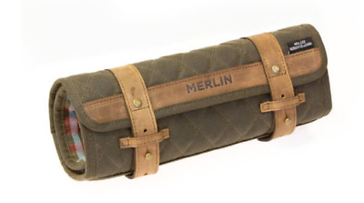 Merlin Chaplow Motorcycle Motorbike Olive One Size Tool Roll