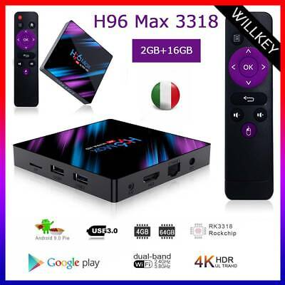 Tv Box Android 9.1 Iptv 4K Full Hd 1080P 2Gb 16Gb Ram Smart Decoder Wifi  Pro