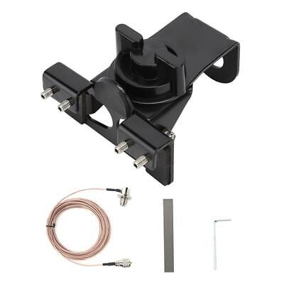RB66 Radio Mobile Antenna Mount Clip Bracket w/ 5M PL259 Extension Cable Cord