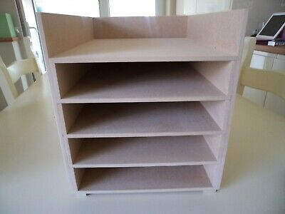 Hand Crafted Freestanding A4 Mdf Paper Storage unit