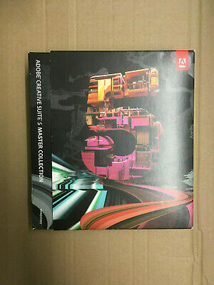 Adobe Master Collection CS5 Windows deutsch Vollversion Mwst BOX Karton RETAIL