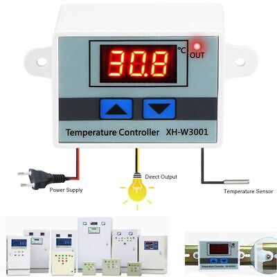 Temperature Controller Digital Incubator Cooling Heating Switch Thermostat NTC