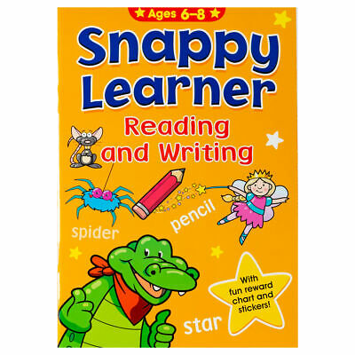 Snappy Lerner Reading & Writing - Children Educational Book for Kids aged 6-8
