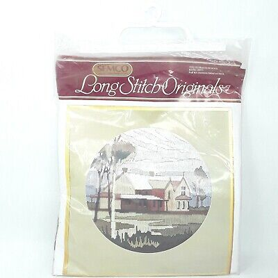 Semco Long Stitch Kit Longstitch Classics The Outback School Unused