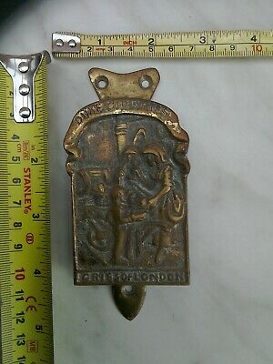 ANTIQUE DOOR KNOCKER. BRASS BRONZE, Duke cherries cries of London