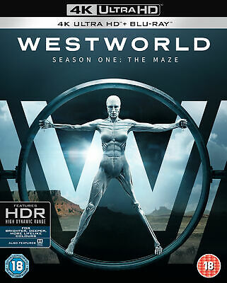 Westworld: Season One - The Maze [2017] (4K Ultra HD + Blu-ray)