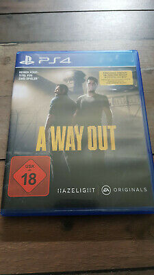 A Way Out (Sony PlayStation 4, 2018)