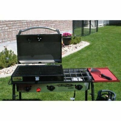 Camp Chef 3-Burner Barbecue Box with Hinged Lid with Ther W