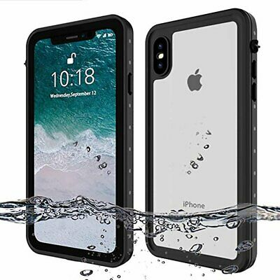 For Apple iPhone XS Max XR X 8 Plus Full-Body Drop Proof Waterproof Case Cover