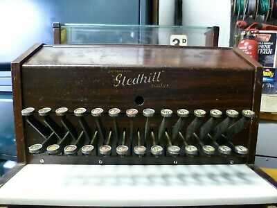 ANTIQUE, GLEDHILL of  HALIFAX , SHOP TILL - CASH REGISTER