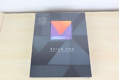 Brian Eno Music For Installations Limited Super Deluxe 6 CD Box Set SEALED no200