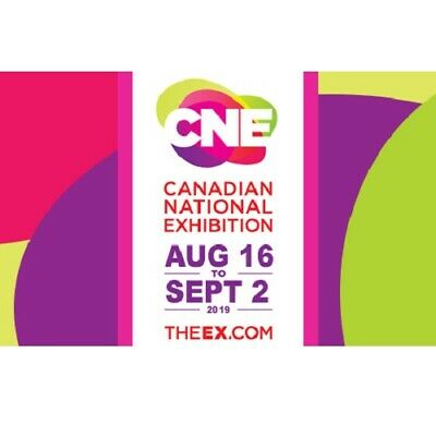 2019 CNE General Admission Ground Pass Canadian National Exhibition