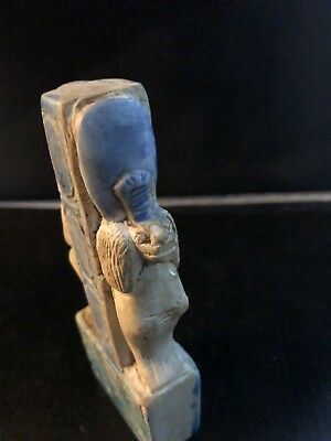 Rare Ancient Egyptian Faience Shabti  Sekhmet (945-715 BC.)