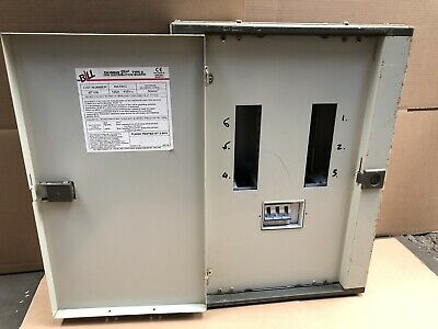 BILL Talisman Plus 6-Way MCB Distribution Board 3-Phase MEM MEMSHIELD 2 100Amp